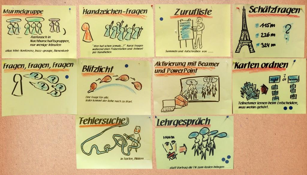 10 Aktivierungen im Frontalvortrag