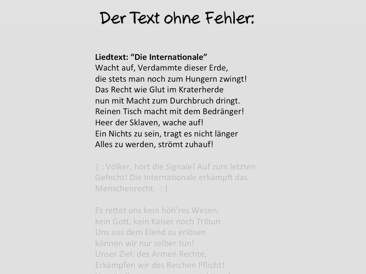 text ohne vokale