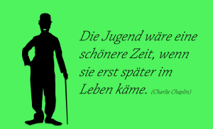 Chaplin Zitat